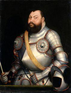 Luther austellungen usa   Lucas Cranach d. J., Kurfürst Johann Friedrich der…