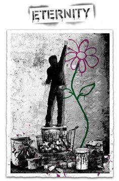 Mr. Brainwash Eternity Print Release Details Street Art News, Street Art Banksy, Street Artists, Urban Graffiti, Graffiti Murals, Mr Brainwash, Print Release, Collage, Sculpture