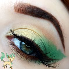 Ariel Make Up ~ Make Up & Beauty with a Princess Touch: ♕ The Pokémon Series ~ Leafeon ♕{Eeveelutions Mini Series}