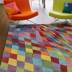 90x150 Prim Rug - 60% Viscose, 40% Wool. Underside: Cotton. - by Design Innovations #MONOQI