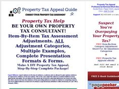 awesome Property Tax Help - Appeal Tax Assessment