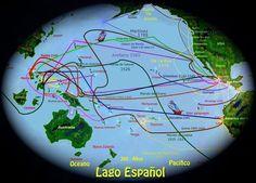 Kodiak Alaska, Free Printable World Map, Free Printables, Conquistador, Manila, Spanish, Empire, Lakes, Sun