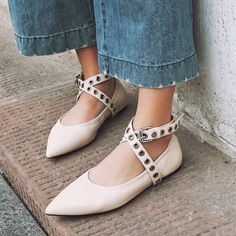 (63.57$)  Buy here - http://aiz0e.worlditems.win/all/product.php?id=32793025990 - Pointy Toe Flats With Belt Buckle Black Apricot British Style Ladies Singles Shoes 2017 Spring New Comfortable Fashion Footwear
