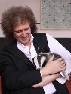 """I dream of the day I wake up and there is no longer any threat of abuse to our wild animals,"" Queen guitarist Brian May"