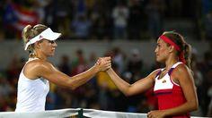 Auch im Finale der Olympischen Spiele 2016 verlor Angelique Kerber (l.) gegen Monica Puig
