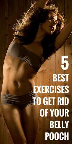 5 Best Exercises To Get Rid Your Belly Pooch ~ Medihealer