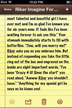 Riker imagine for Tina part 2