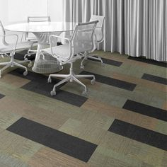 Interface Floor Design          | Verticals: Vertex, Verticals: Vantage, Verticals: Zenith, Verticals: Vertex |          Find inspiration for your next interior design project with floors composed of modular carpet tiles from Interface