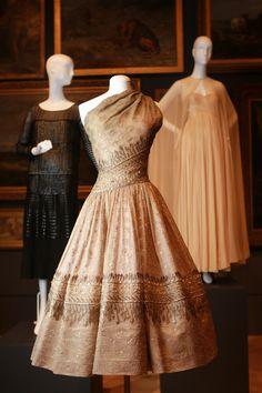 Soirée de Lahore, evening dress (1955) by Christian Dior