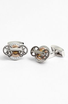 Tateossian 'Trio Gears' Mechanical Cuff Links available at #Nordstrom