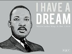 Celebrating the great man, Martin Luther King, Jr. Illustration by Justin Lucas