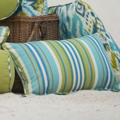 all weather cushions Laurie Bell