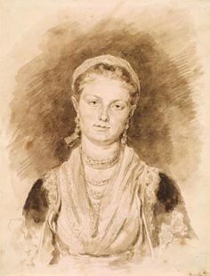 Jean-Honoré Fragonard | 1732-1806 | Portrait of a Neapolitan Girl | The Morgan Library & Museum