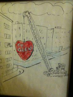 Valentine Ephraim made for his beloved Glen