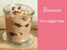 Overnight Oats Rezept Brownie