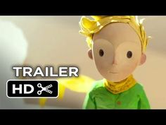 The Little Prince Official Trailer #1 (2015) - Marion Cotillard, Jeff Bridges Animated Movie HD - YouTube