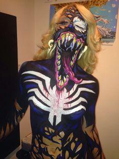 Creepy Venom Cosplay Design Ideas  - Creative Cosplay Designs