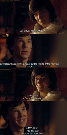 Don't care what others say, Mary was great, and she loved Sherlock, and Sherlock loved her just as much, but she also knew her place and that this team was more important than her marriage.
