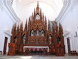 Cuba - Trinidad - Plaza Mayor - Iglesia Parroquial de la Santisima Trinidad, Church of the Holy Trinity - Main Altar