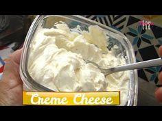CREAM CHEESE CASEIRO FÁCIL E DELICIOSO - YouTube Recipetin Eats, Food Decoration, Cupcakes, Kefir, Cooking Tips, Buffet, Food And Drink, Ice Cream, Quiche
