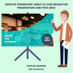 Fiverr freelancer will provide Presentation Design services and design investor pitch deck for your business or startup including Source File within 3 days