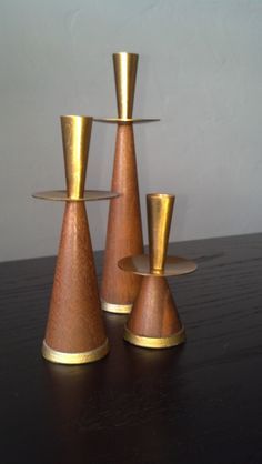 Vintage Danish Candle Holders by Phoebesatticseattle on Etsy