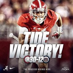 Iron Bowl Victory! #RollTide #IronBowl