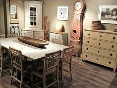 D.Larsson Showroom / Swedish Gustavian Style