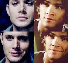 Sam and Dean smirks for the win