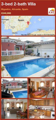 3-bed 2-bath Villa in Bigastro, Alicante, Spain ►€249,995 #PropertyForSaleInSpain