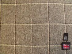 SKU Fabric Description Type 100 Pure New Wool Soft Tweed Fabric Colour Light Grey / Mid Grey two-tone twill Ivory / Charcoal Shadow Tartan Fabric, Wool Fabric, Caravan Upholstery, Light Colors, Colours, Check Fabric, Handmade Items, Pure Products, Colour Match