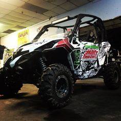 Posted by l_ulliana on IG Can race season start already???? #TrucksXTrotter #seminolepowersports #buckedup #gncc #megatruckseries #canam #maverick