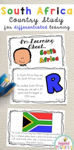 africa unit study for kids & africa unit study for kids Africa Activities For Kids, Heritage Day South Africa, South Africa Facts, Africa Craft, Kindergarten Special Education, South African Flag, Social Studies Projects, African Theme, World Thinking Day
