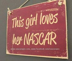 Must have! This girl loves her NASCAR