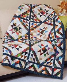 I came across this pattern in one of my old magazines.  I think 2016 will be my year for scrap quilts.
