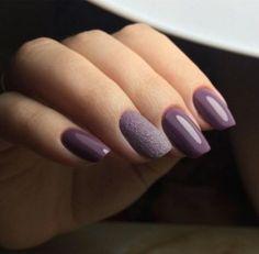 50+ Best Ideas Nails Purple Matte Hair Colors #nails #hair
