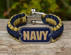 Regular Survival Bracelet - Officially Licensed - U.S. Navy
