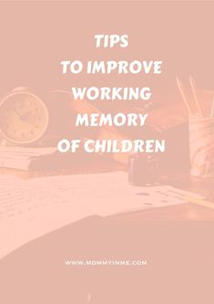Tips to increase the working memory and concentration in children. Must read as a parent. Parenting Goals, Kids And Parenting, Parenting Hacks, Brain Gym Exercises, Increase Memory, Short Term Memory, Study Schedule, Working Memory, Try To Remember