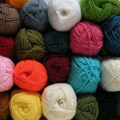 #yarn #wool #woven #wool #colour #color #colours #colors #explosionofcolour #inspo #inspiration #art #artist #materials #blue #multicolor #multicolour