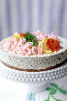 Fish Recipes, Appetizer Recipes, Snack Recipes, Dessert Recipes, Snacks, Swedish Dishes, Swedish Recipes, Cake Sandwich, Scandinavian Food