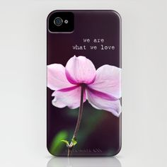 We are what we love iPhone Case by Shilpa - $35.00