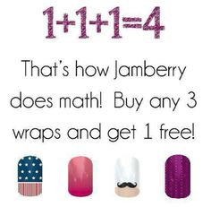 Have pretty nails???  Well you can.  Go to my website and order your wraps today! Http://pookiechick.jamberrynails.net
