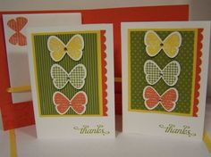 butterfly cards and inside