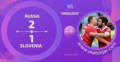 Soccer Highlights, World Cup Qualifiers, Slovenia, Goals