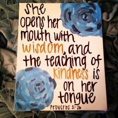 Bible Verse by RoseberryCanvas on Etsy, $15.00