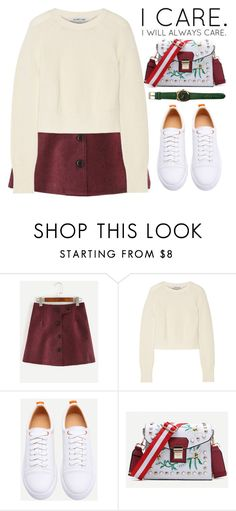 """I CARE."" by m-zineta ❤ liked on Polyvore featuring Helmut Lang"