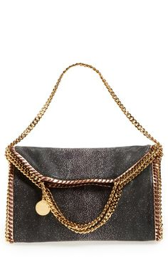 Stella McCartney 'Falabella' Foldover Tote, сумки модные брендовые, http://bags-lovers.livejournal