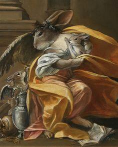 Other pets Gallery - by Melinda Copper Art And Illustration, Illustrations, Bunny Drawing, Bunny Art, Fantasy Kunst, Fantasy Art, Lapin Art, Year Of The Rabbit, Rabbit Art