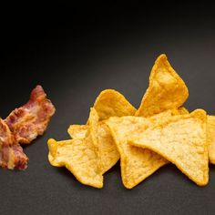 tomandiet-baconos-tortilla-chips Snack Recipes, Snacks, Tortilla Chips, Meals For One, Bacon, Eat, Romania, Period, Food