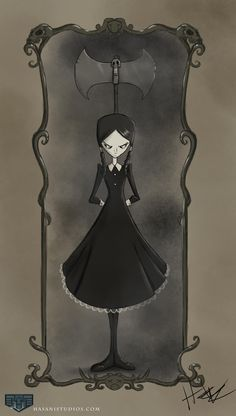hasaniwalker: Wednesday Addams